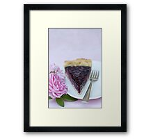 Slice of pie Framed Print