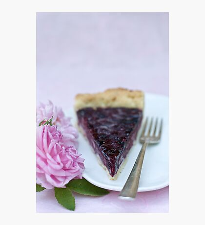 Slice of pie Photographic Print