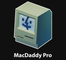Mac Daddy Pro Chest - creativebloke.com - t shirt by creativebloke