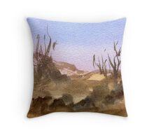 Scrubby Sands Throw Pillow
