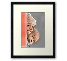 Can see U Framed Print