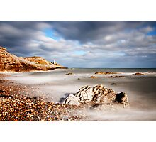 Mumbles Lighthouse Photographic Print