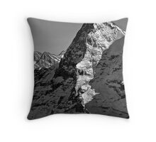 Eiger North Wall Throw Pillow