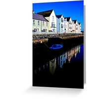 sur le continent killyleagh reflections #1 Greeting Card