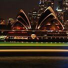 ferry into circular quay by steveault
