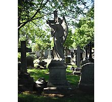 Church Yard Gravestones Photographic Print