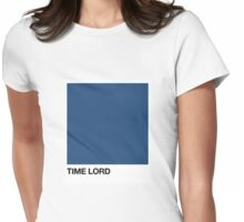 Time Lord Pantone Womens Fitted T-Shirt