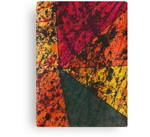 Corner Splatter # 11 Canvas Print