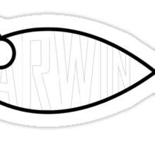 Darwin Fish Sticker