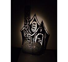 Shadow House Photographic Print