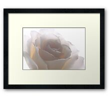 French Lace Framed Print