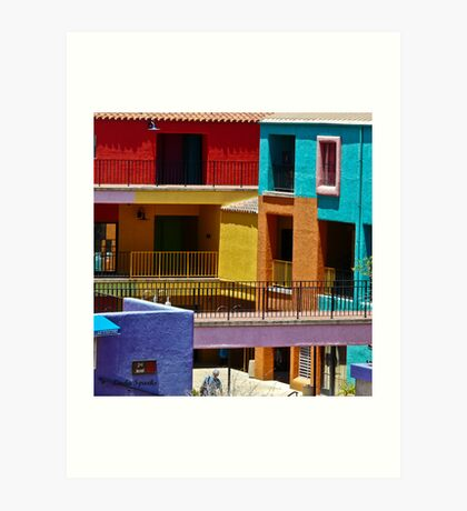 La Placita, Tucson, AZ Art Print