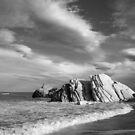 Pahaoa beach, N.Z. by Mike Warman