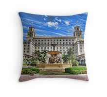 The Breakers Hotel Throw Pillow