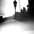Lamp posts by Lisa Richards