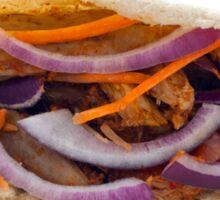 Chicken Kebab in a Pita Bread Sticker