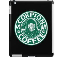 Scorpion's toasty coffe iPad Case/Skin