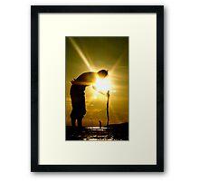 Seeker Framed Print