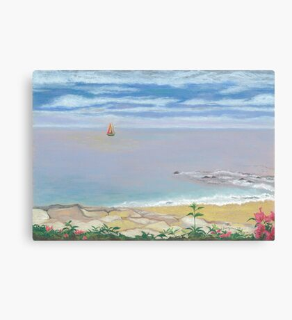 Calm Beach Canvas Print