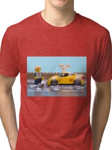 Lego car wash Tri-blend T-Shirt