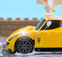 Lego car wash Sticker