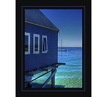 Blue View... Photographic Print