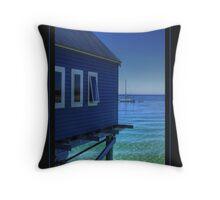 Blue View... Throw Pillow