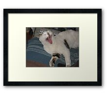 I WILL Watch the Simpsons Framed Print