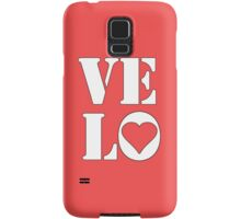 VELO / LOVE TEE Samsung Galaxy Case/Skin