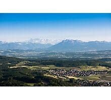 scenic view from uetliberg Photographic Print