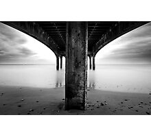 below the pier Photographic Print