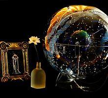 celestial globe in celestial light: she walks among the stars by nadine henley