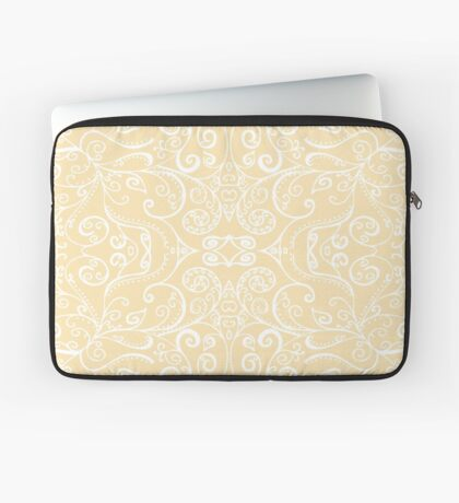 Silent Era, Cream Laptop Sleeve