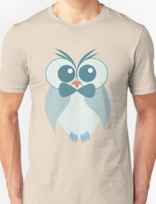 Blue owl pattern Unisex T-Shirt