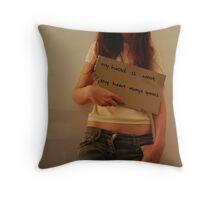 Hopeless Romantic Throw Pillow