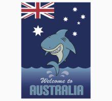 welcome to australia Kids Tee