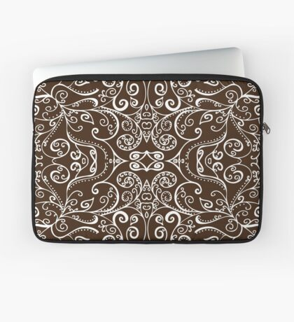 Silent Era, Brown Laptop Sleeve