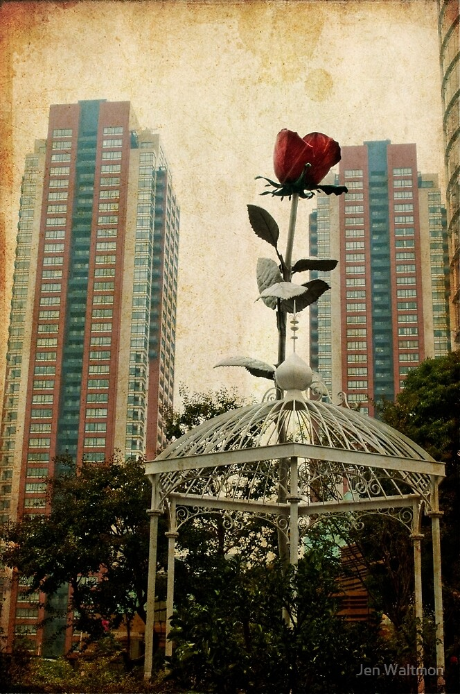 Autumn in Japan:  The Story of the Giant Flower by Jen Waltmon