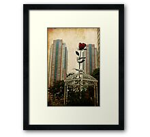 Autumn in Japan:  The Story of the Giant Flower Framed Print
