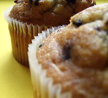 Blueberry Muffins by TriciaDanby