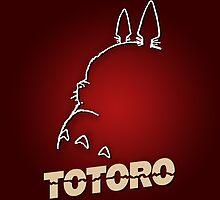 Totoro - Hitchcockian edition by KAMonkey