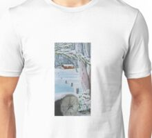 Snowy Mountains Memories Unisex T-Shirt