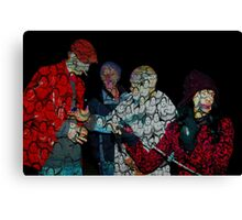 The Four Stooges Canvas Print