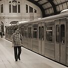 Piraeus Metro Station by BettinaSchwarz