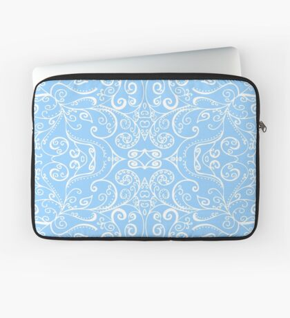 Silent Era, Baby Blue Laptop Sleeve