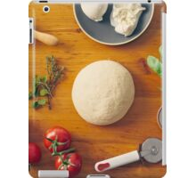 Ingredients for making pizza iPad Case/Skin