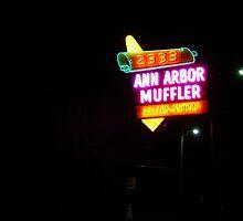 Ann Arbor Muffler by gailrush