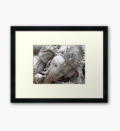 Ganesha Framed Print