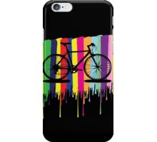 Rainbow bicycle iPhone Case/Skin