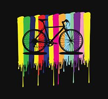 Rainbow bicycle Unisex T-Shirt